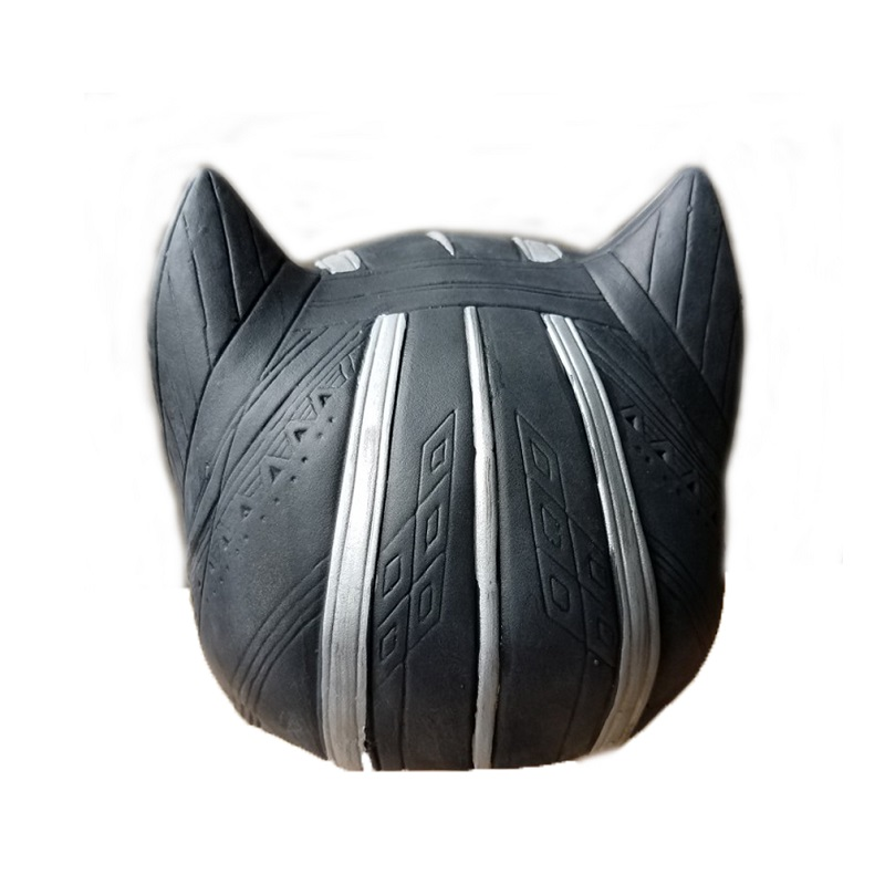 Black panther latex mask superhero cosplay stage props 1