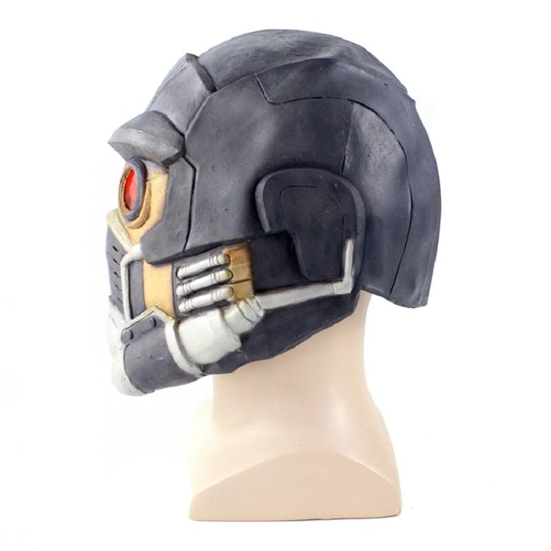 Newest Guardians Star Cosplay Lord Mask Lifesize Latex Helmet 2