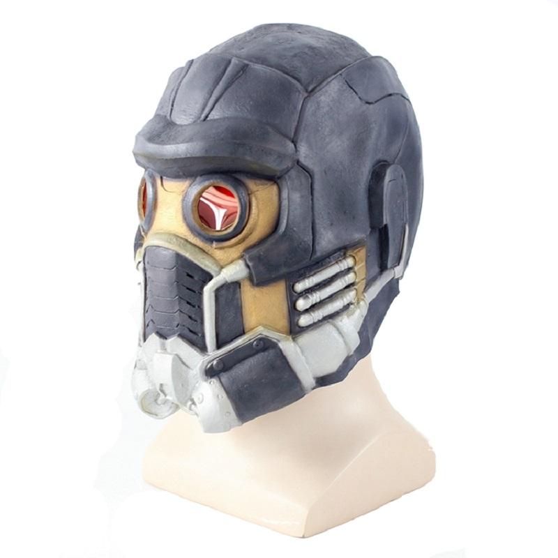 Newest Guardians Star Cosplay Lord Mask Lifesize Latex Helmet 1