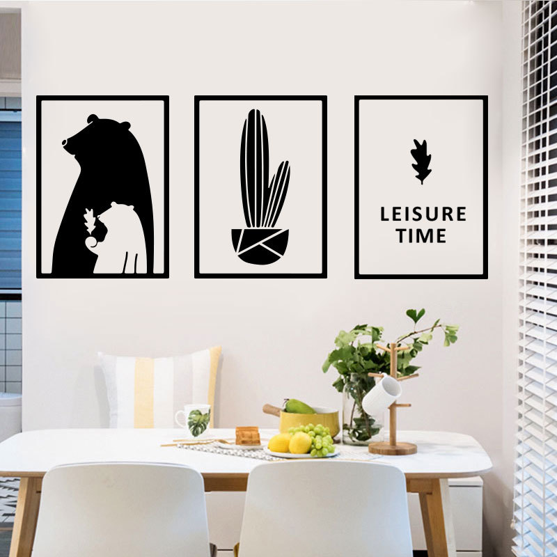 Modern Minimalist Art Wallpaper Self-adhesive Living Room Decoration Wallpaper Youth Bedroom Wall Stickers 3