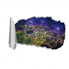 Video Game Anime Wall Stickers Cs Map Kid's Room Wall Decor