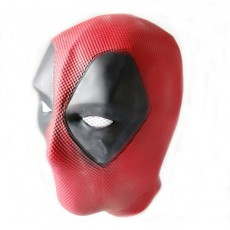 Dead Poor Wade Mask Helmet Movie Vesion Latex Full Head Face Mask Cosplay Props Latex Normal Size