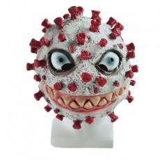 2020 Coronavirus Latex Mask Halloween Horror Dressup Mask Weird Dress Up Hood