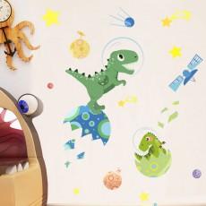 Kindergarten Classroom Decoration Wallpaper Small Dinosaurs DIY Self-adhesive Stickers for Children's Playground
