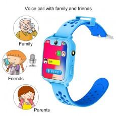 S6 Smart Watch Layar Sentuh Berwarna Anti Air Dengan Tracking Lbs+Panggilan Sos Untuk Keamanan Anak