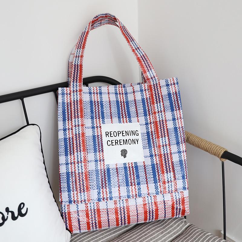 Retro PE woven bag 2