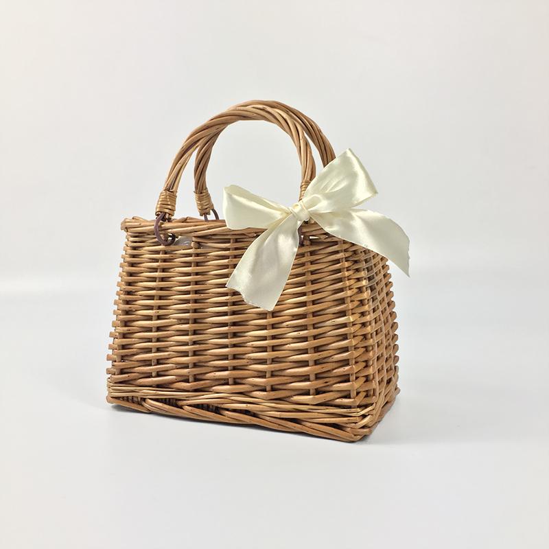 Hand-woven bamboo basket 2