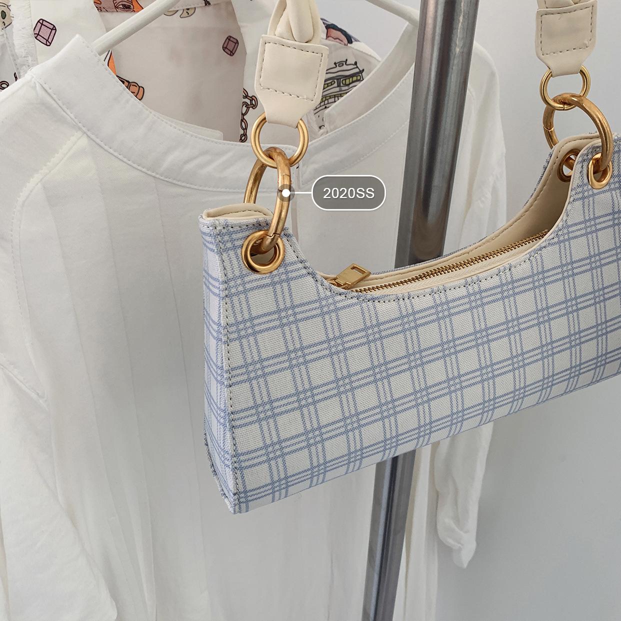 French lattice shoulder bag 2