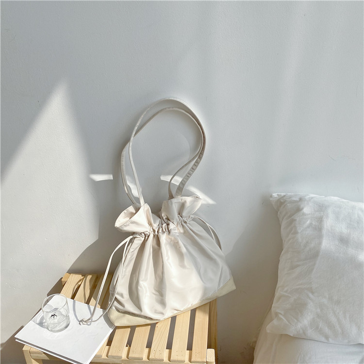 Drawstring canvas bag 5
