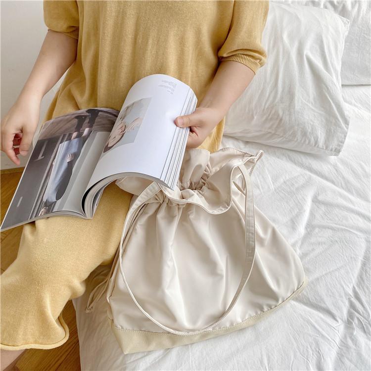 Drawstring canvas bag 1