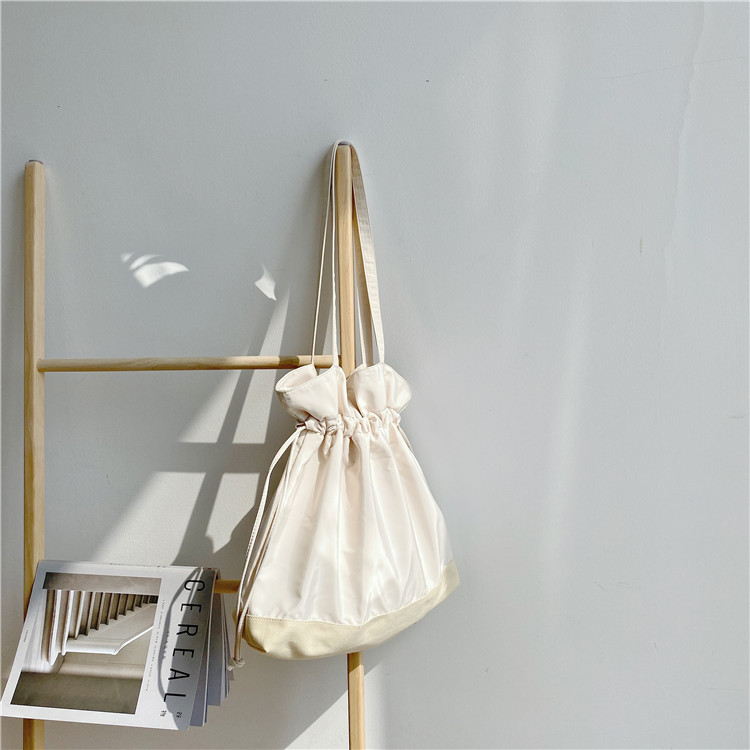 Drawstring canvas bag 4