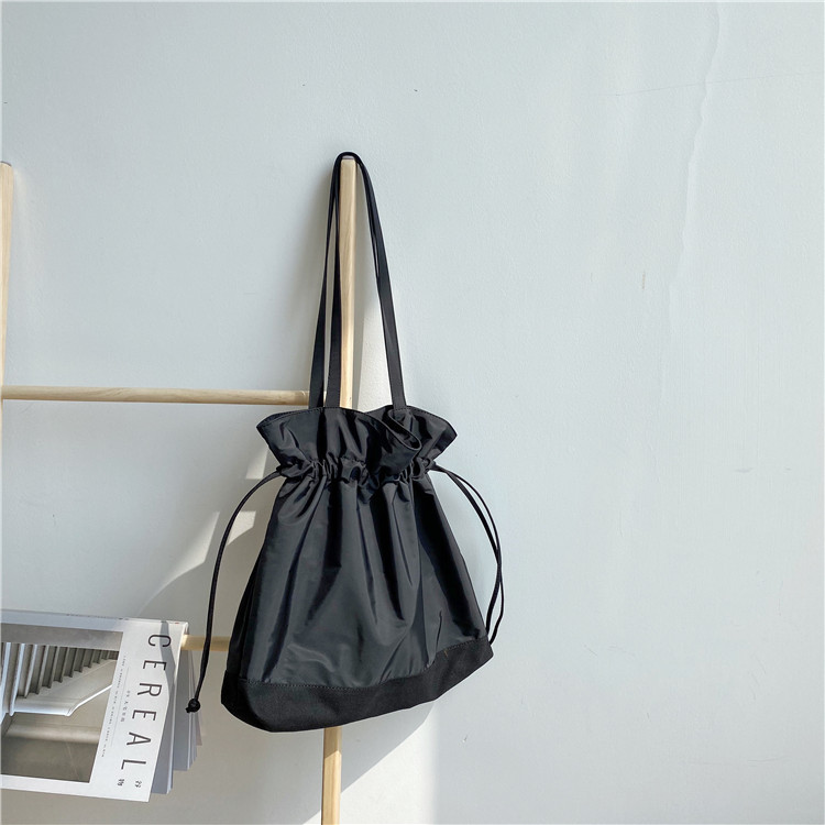 Drawstring canvas bag 2