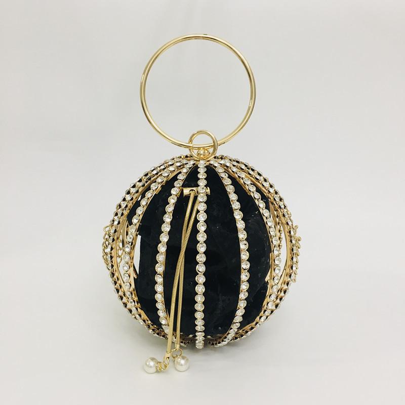 Hollow Diamond Ball Bag Evening Bag 3