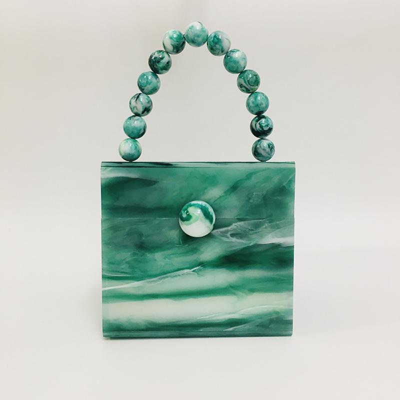 Acrylic square box bag handbag evening bag 1