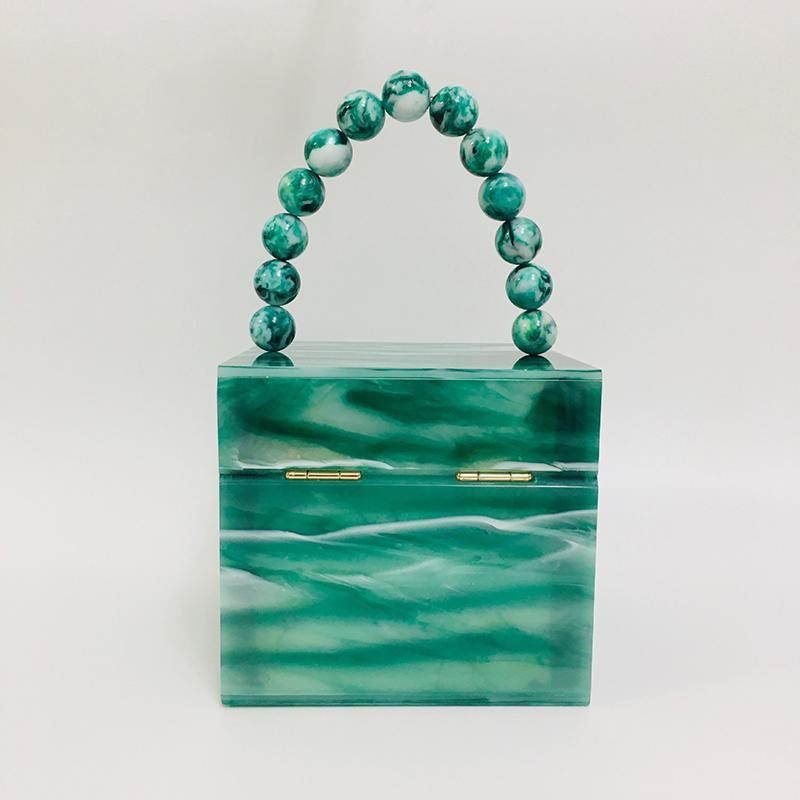 Acrylic square box bag handbag evening bag 2