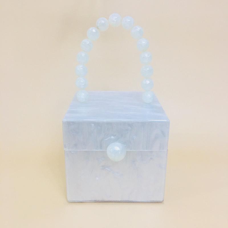 Acrylic square box bag handbag evening bag 4