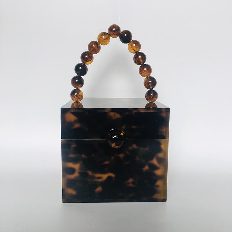 Acrylic square box bag handbag evening bag 3