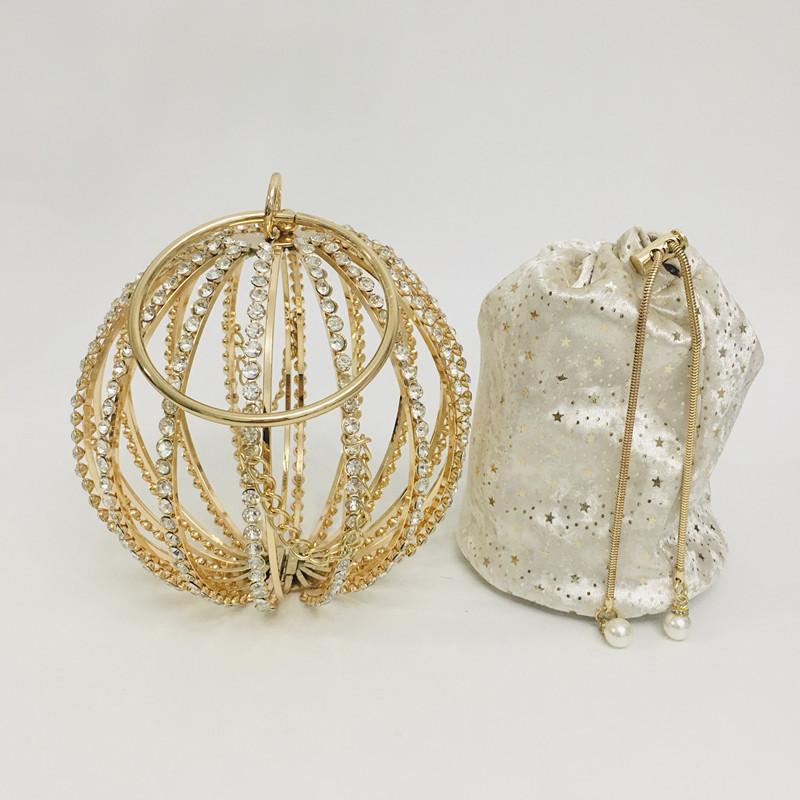 Hollow Diamond Ball Bag Evening Bag 2