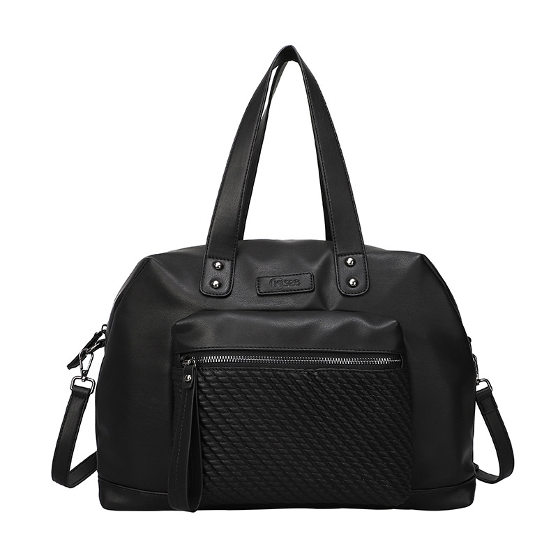 Large-capacity ladies handbags Europe and the United States fashion trend shoulder bag women's woven all-match diagonal bag 1