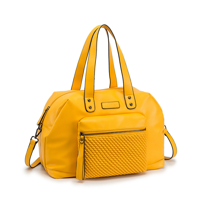 Large-capacity ladies handbags Europe and the United States fashion trend shoulder bag women's woven all-match diagonal bag 0