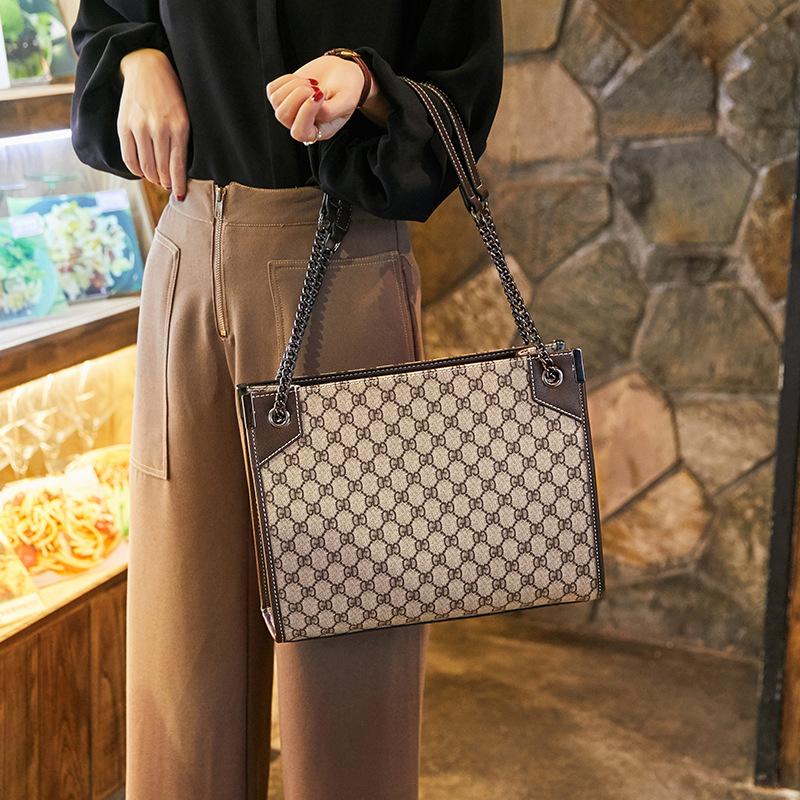 Female bag big brand printing fashion lady big bag shoulder messenger tote bag 2