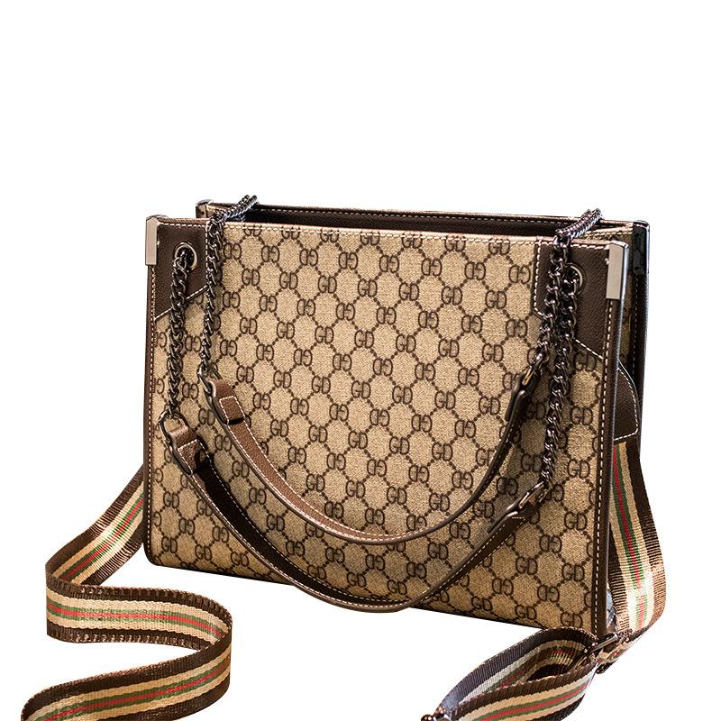 Female bag big brand printing fashion lady big bag shoulder messenger tote bag 0