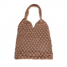INS style hand-woven hollow tote bag