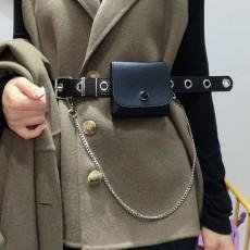 Women's fashion chain belt bag