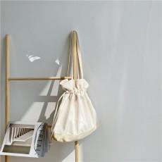 Drawstring canvas bag