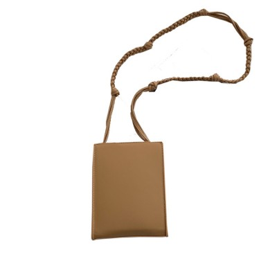 Vertical small square bag