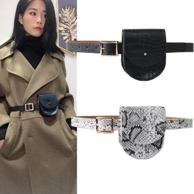 Stylish personality fashionable belt belt bag