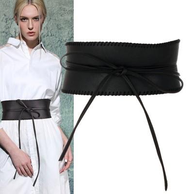 Retro trend bandage girdle belt
