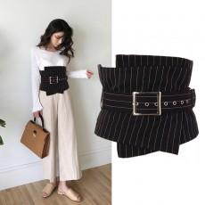 Waist shirt skirt with decorative girdle