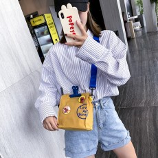 Character vintage cartoon canvas bag