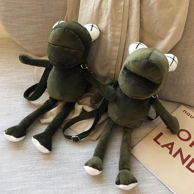 Cartoon doll frog crossbody bag