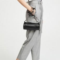 Drum bag metal ring portable crossbody bag