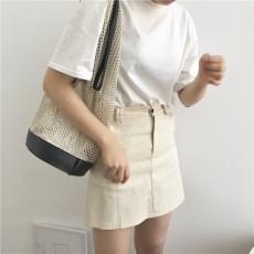 Casual shoulder temperament summer portable net bag