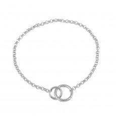Metal texture necklace