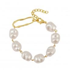 Simple retro pearl ins bracelet