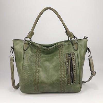 New style shoulder bag European and American messenger ladies bag large capacity tote bag