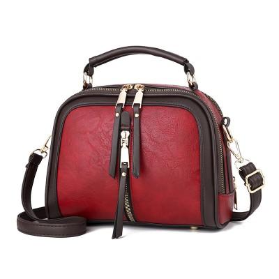 Handbags Women Bags Designer PU Leather Solid Color Messenger Bag Fashion Shoulder Crossbody Bags Girls Tassen Tote