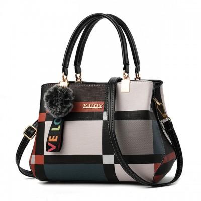 Handbag Women Stitching Wild Messenger Bags Designer Brand Plaid Shoulder Bag Female Ladies Totes