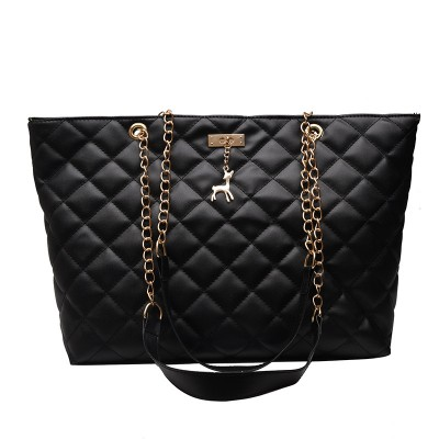 Women Handbag PU Leather 2020 Designer Brand Luxury Chain Shoulder Messenge Crossbody bag Large Capacity Office Lady Bag