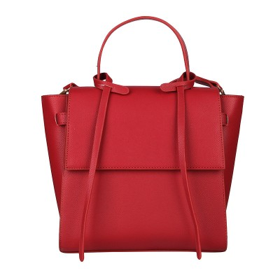 cowhide women's shoulder bag big women leather handbags trapeze shape stylish crossbody bags for women
