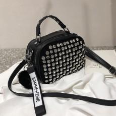 Women Leather Shoulder Bag Full Diamonds Lady Crossbody Bag 2020 Luxury Handbags Women Bags Designer