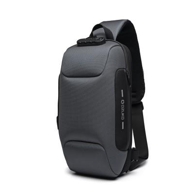 New Multifunction Crossbody Bag for Men Anti-theft Shoulder Messenger Bags Male Waterproof Short Trip Chest Bag Pack