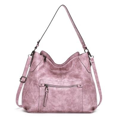 Handbag popular soft leather large-capacity bag European and American fashion ladies one-shoulder messenger bag