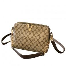 Fashion popular messenger bag ladies one-shoulder small square bag chain western style handbag tide
