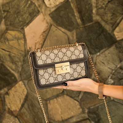 High-end bags, Western style women's bags, new fashion one-shoulder small square bags, simple ladies messenger bags, handbags