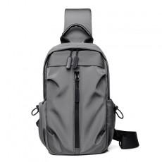 Chest bag men's diagonal bag fashion chest bag business casual shoulder bag multifunctional small backpack men's bag